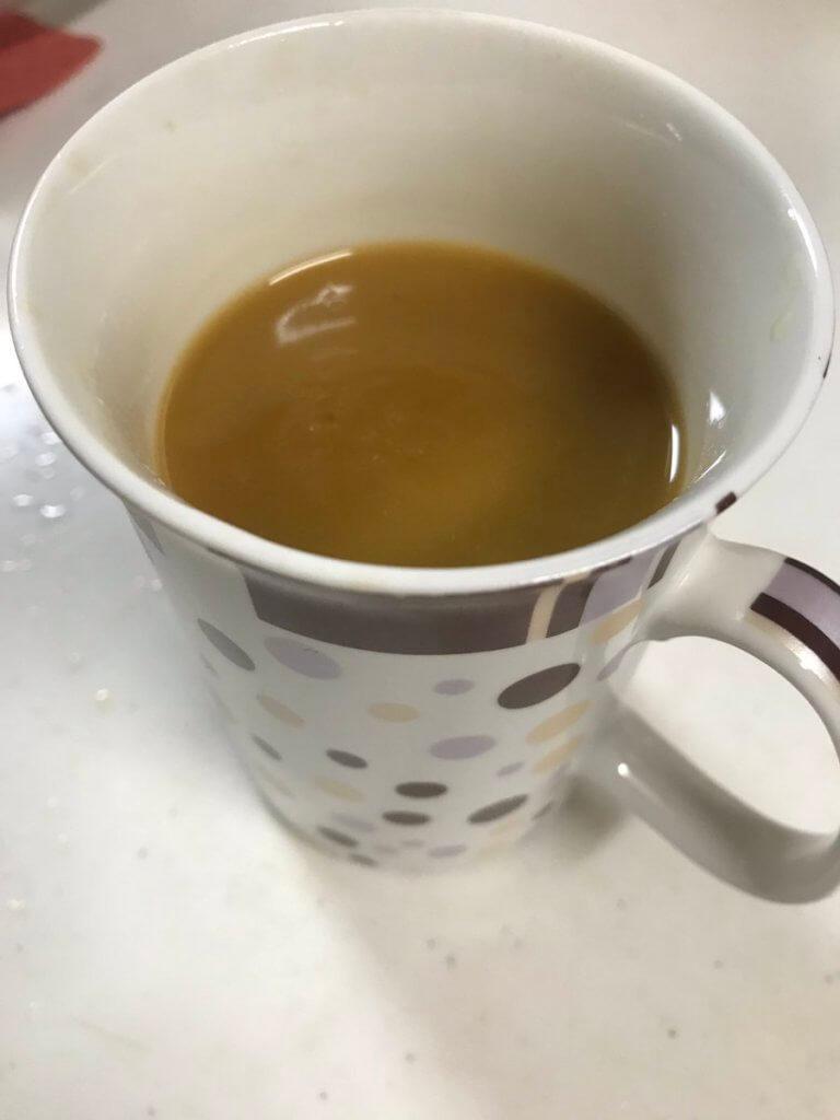 バターコーヒーの作り方④